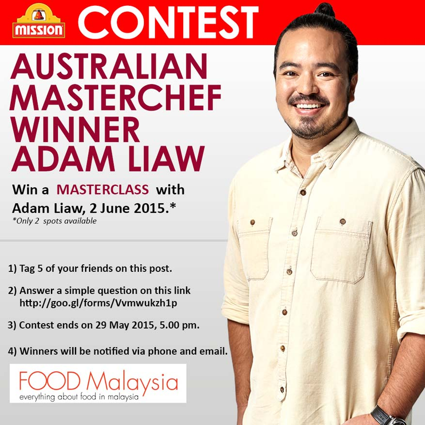 Win a Master Class with Adam Liaw by Mission Foods