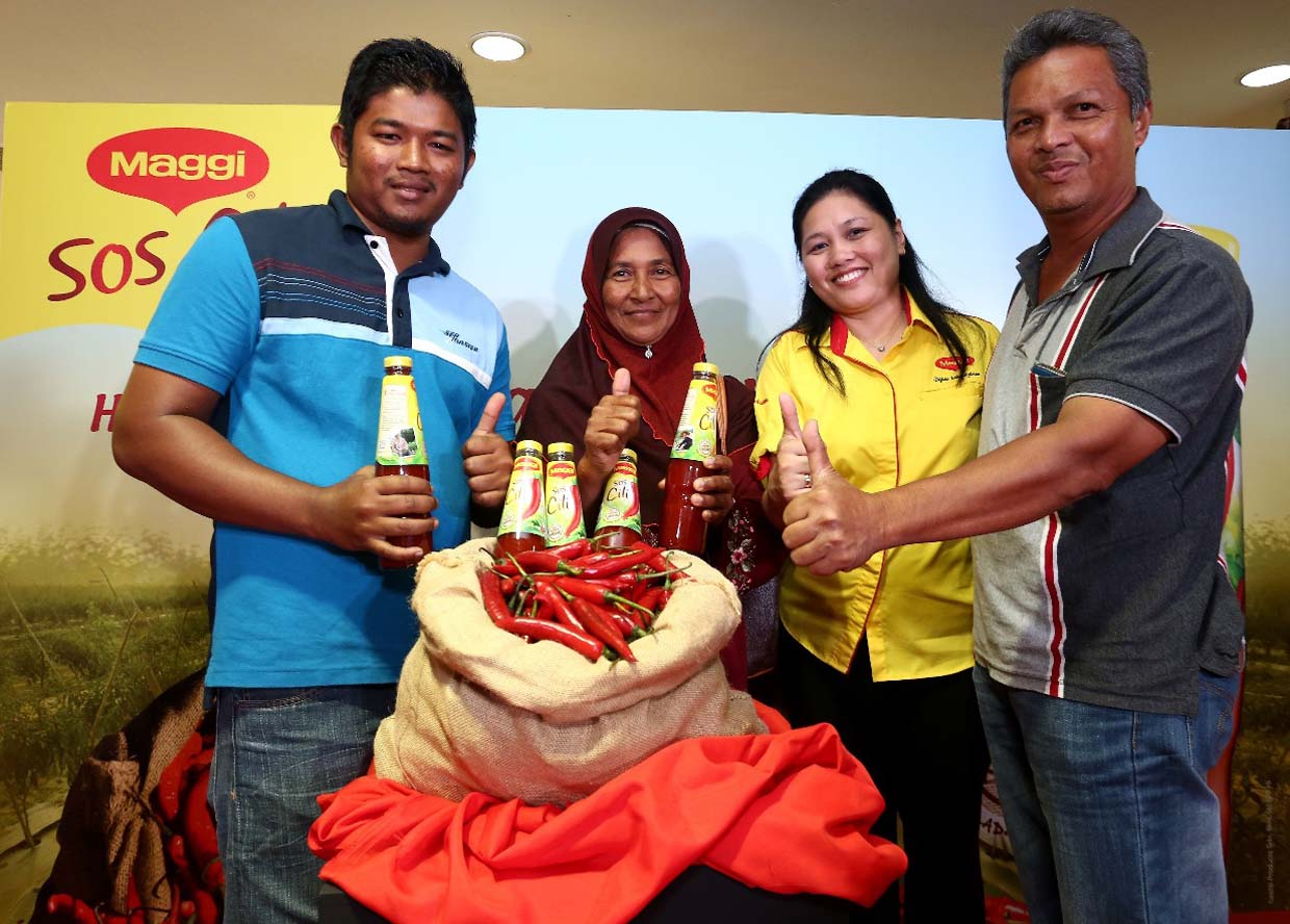 Best Malaysian Chillies for MAGGI® Chilli Sauce