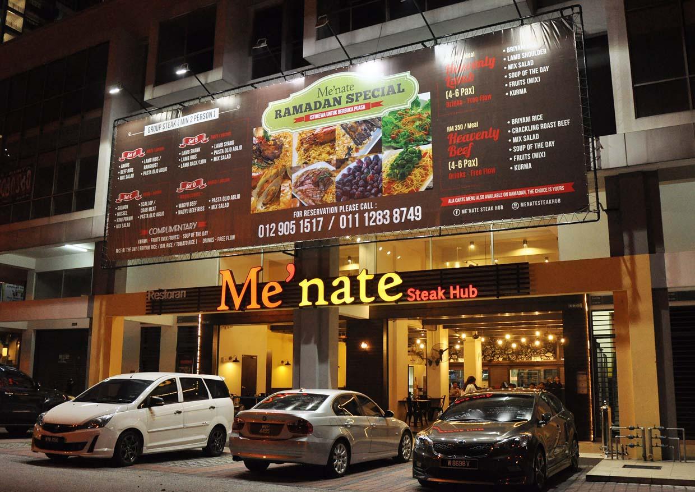 Me'nate Steak Hub Ramadan 2015 @ Starpac Point Setapak, Kuala Lumpur