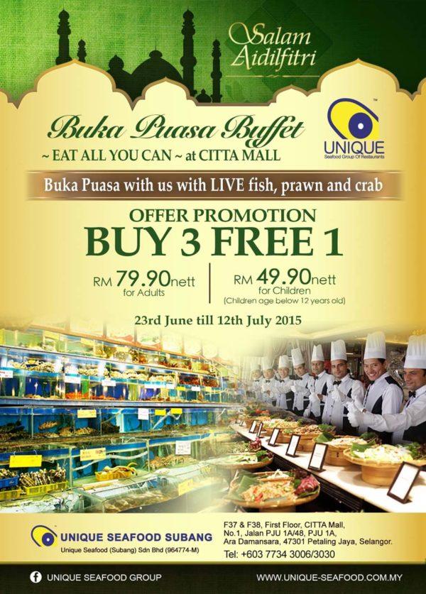 ramadan 2015 unique seafood subang citta mall