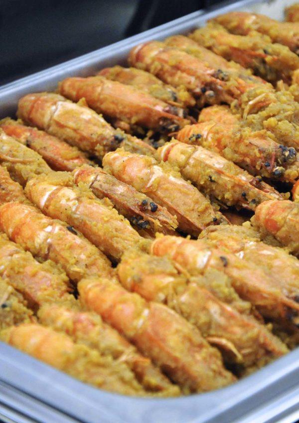 ramadan 2015 unique seafood subang citta mall salted egg prawn