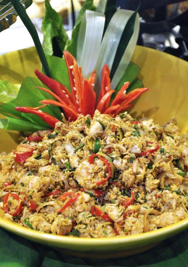 ramadan buffet 2015 coffee house sunway putra hotel kuala lumpur kerabu isi ikan pedas