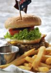 world burger tour hard rock cafe kuala lumpur the aussie burger