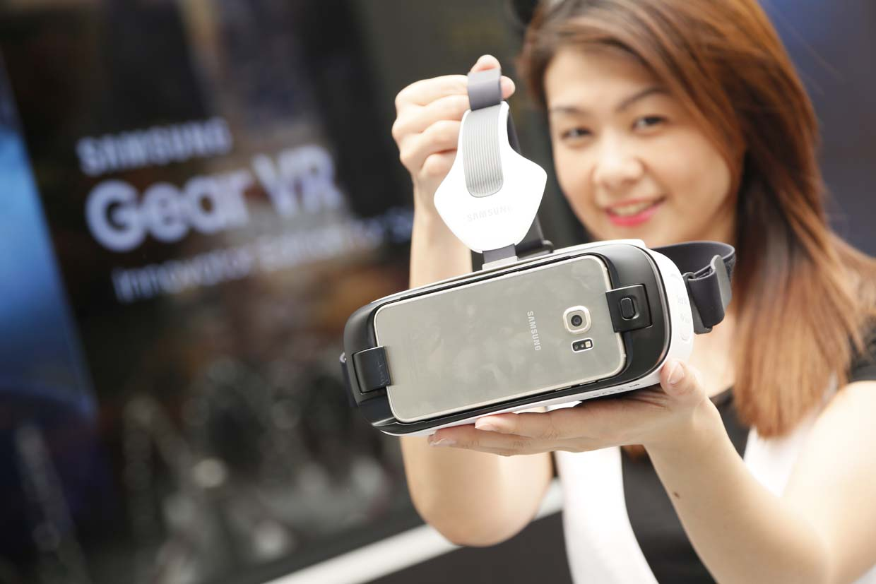 Samsung Gear VR Innovator Edition For S6, Powered By Oculus