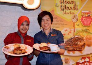 Honey Glazed Chicken @ Kenny Rogers ROASTERS Malaysia