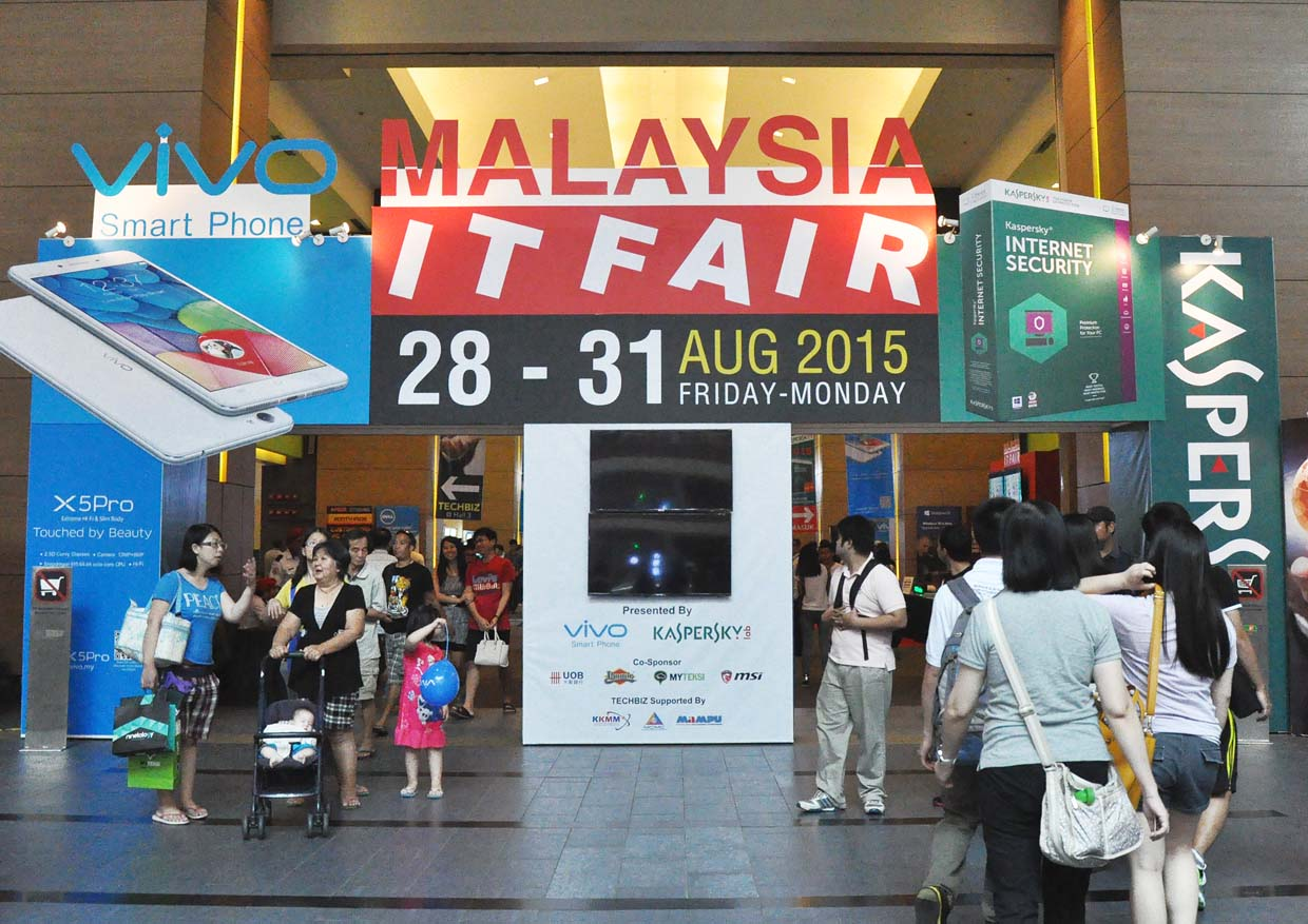 Malaysia IT Fair Launching Event 2015 @ Mid Valley Exhibition Centre, Kuala Lumpur