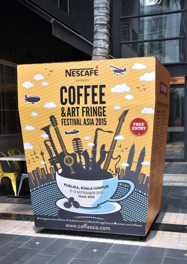 Coffee and Art Fringe Festival Asia 2015 (CAFFA) @ Publika, Kuala Lumpur