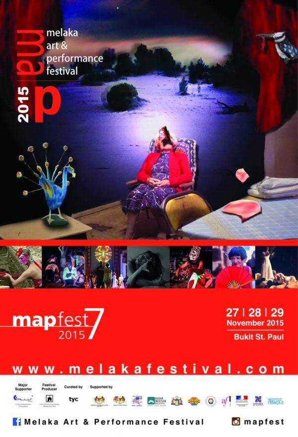 Melaka Art And Performance Festival (MAPFest) 2015 @ St. Paul's Hill