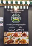 pelicana chicken malaysia korean food atria shopping gallery banner