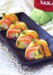 sakae sushi japanese cuisine 18th anniversary new menu promotion salmon cheese roll