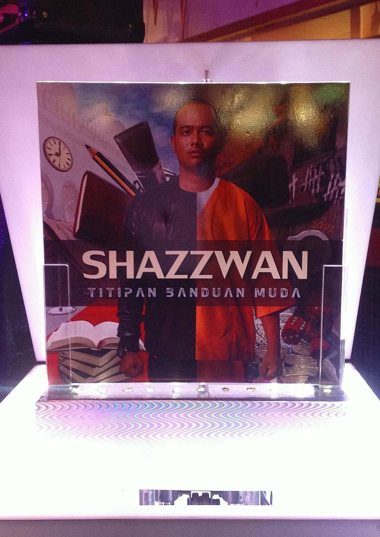 Shazzwan Launched Debut Album Titipan Banduan Muda Hard Rock Voucher Makan Tony Roma S Puri Px Pavillion Cafe Kuala Lumpur Food Malaysia