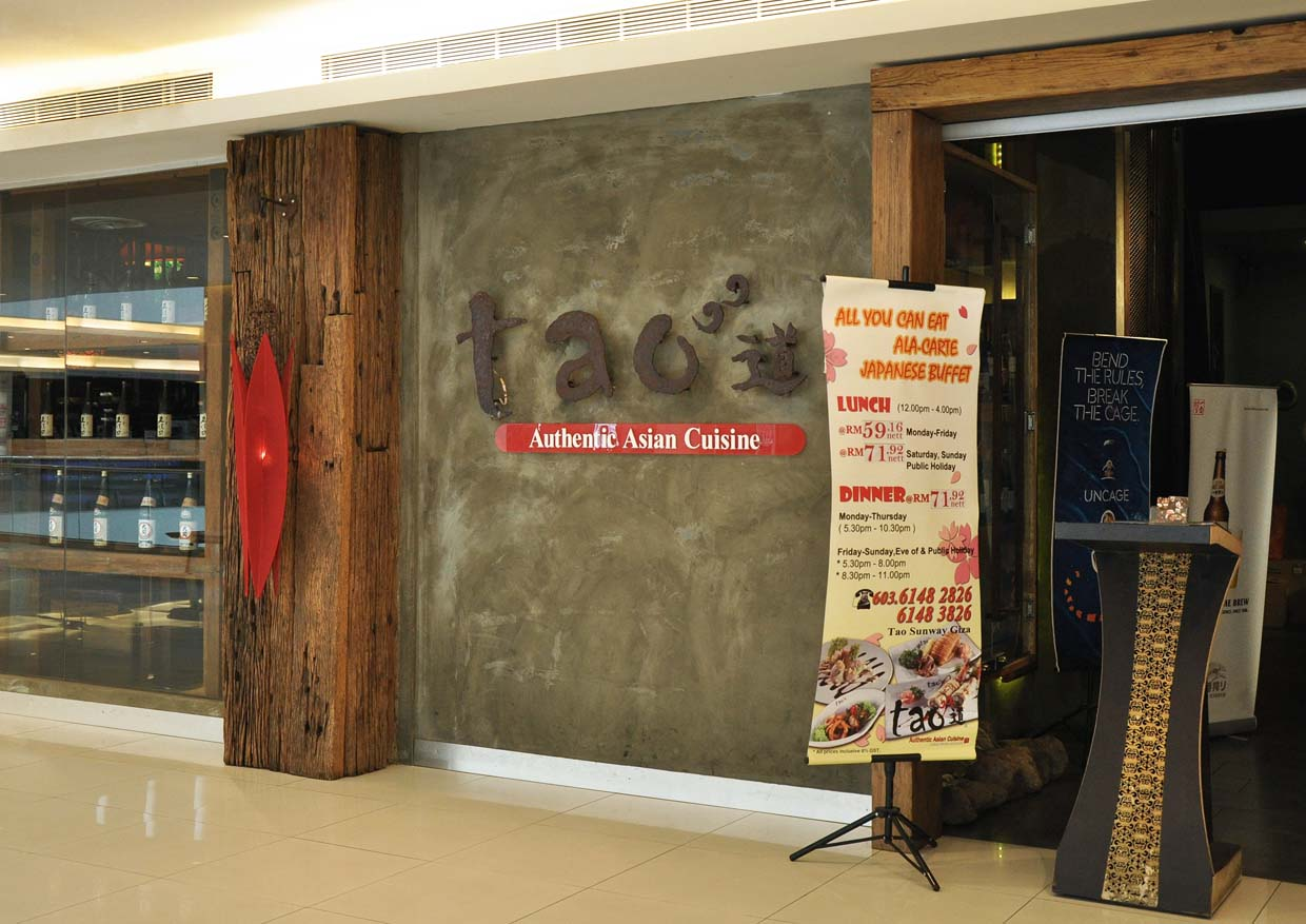 Tao Authentic Asian Cuisine Ala Carte Buffet @ Sunway Giza, Kota Damansara