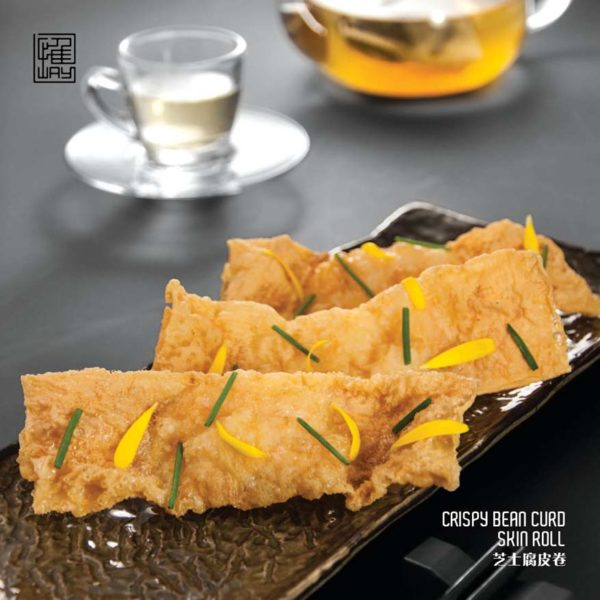 way modern chinois chinese asian cuisine work at clearwater damansara heights bean curd skin roll