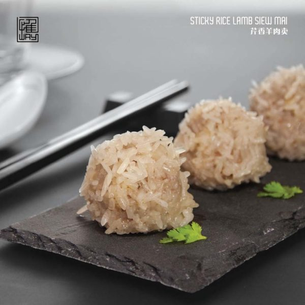 way modern chinois chinese asian cuisine work at clearwater damansara heights sticky rice lamb siew mai