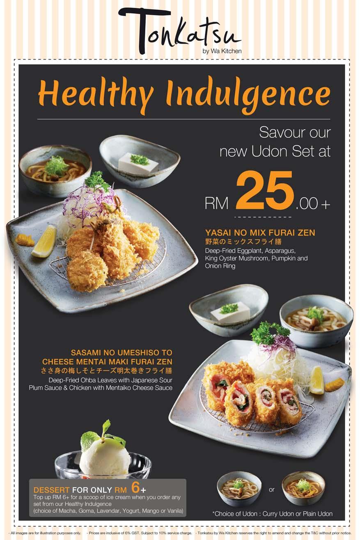 Healthy Indulgence @ Tonkatsu by Wa Kitchen