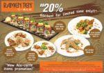 new ala carte promotion ramen ten jaya 33 petaling jaya