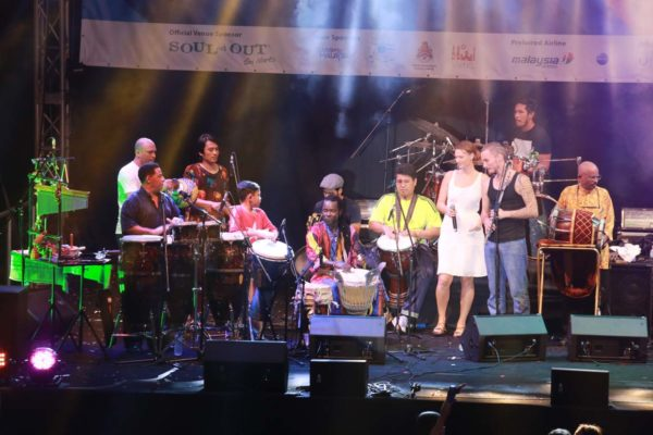 souled out 20th anniversary with asean jazz and percussion festival jam session