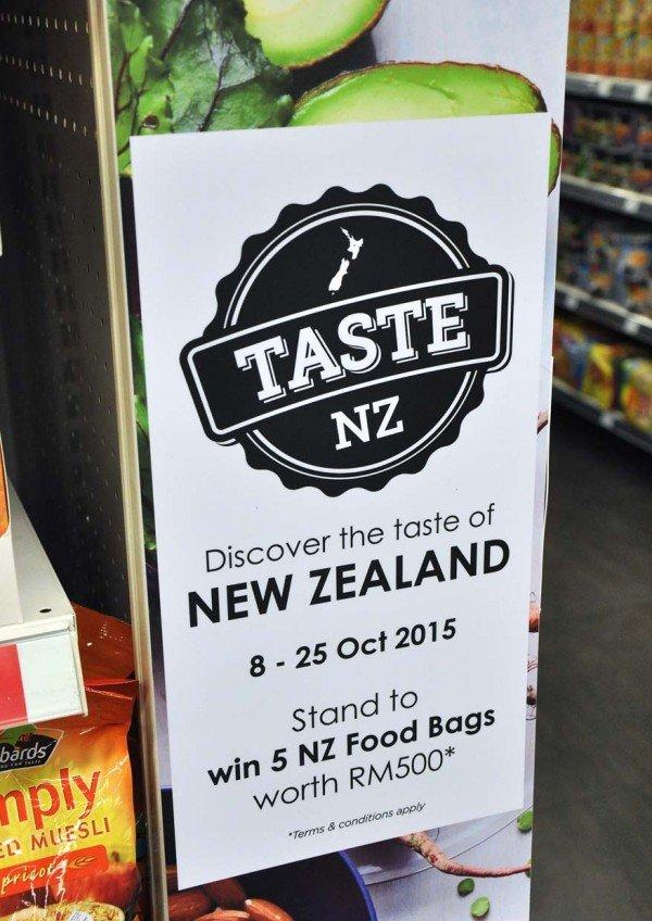 taste new zealand food fair october 2015 cold storage malaysia