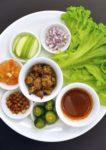 batik boutique m cafe by meesha sukira bukit damansara kuala lumpur sambal fish salad