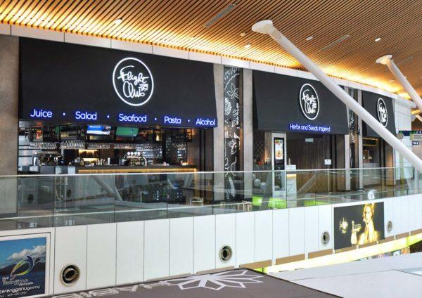 flight club international healthy cuisine kl international airport klia entrance