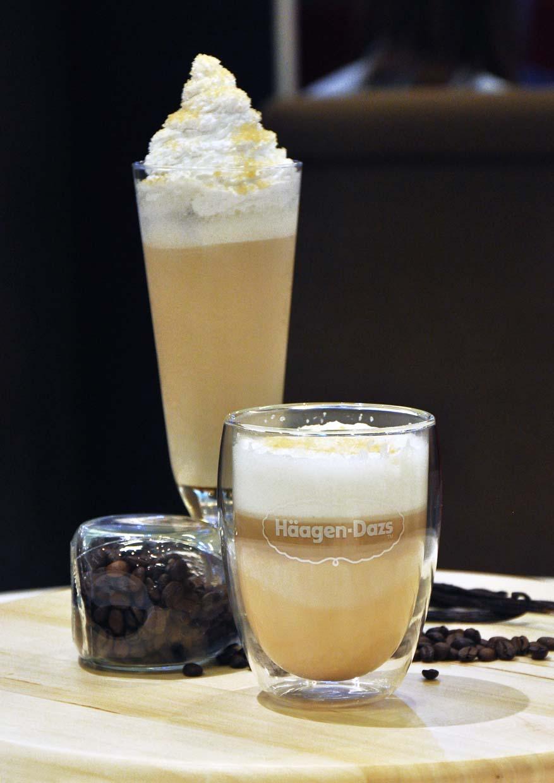 haagen dazs ice cream flavoured latte illy coffee cookies and vanilla cream
