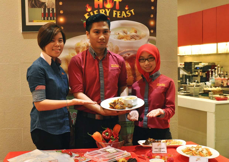 Spicy Hot Fiery Feast Kenny Rogers Roasters Malaysia Food Voucher Makan Tony Roma S Puri Px Pavillion