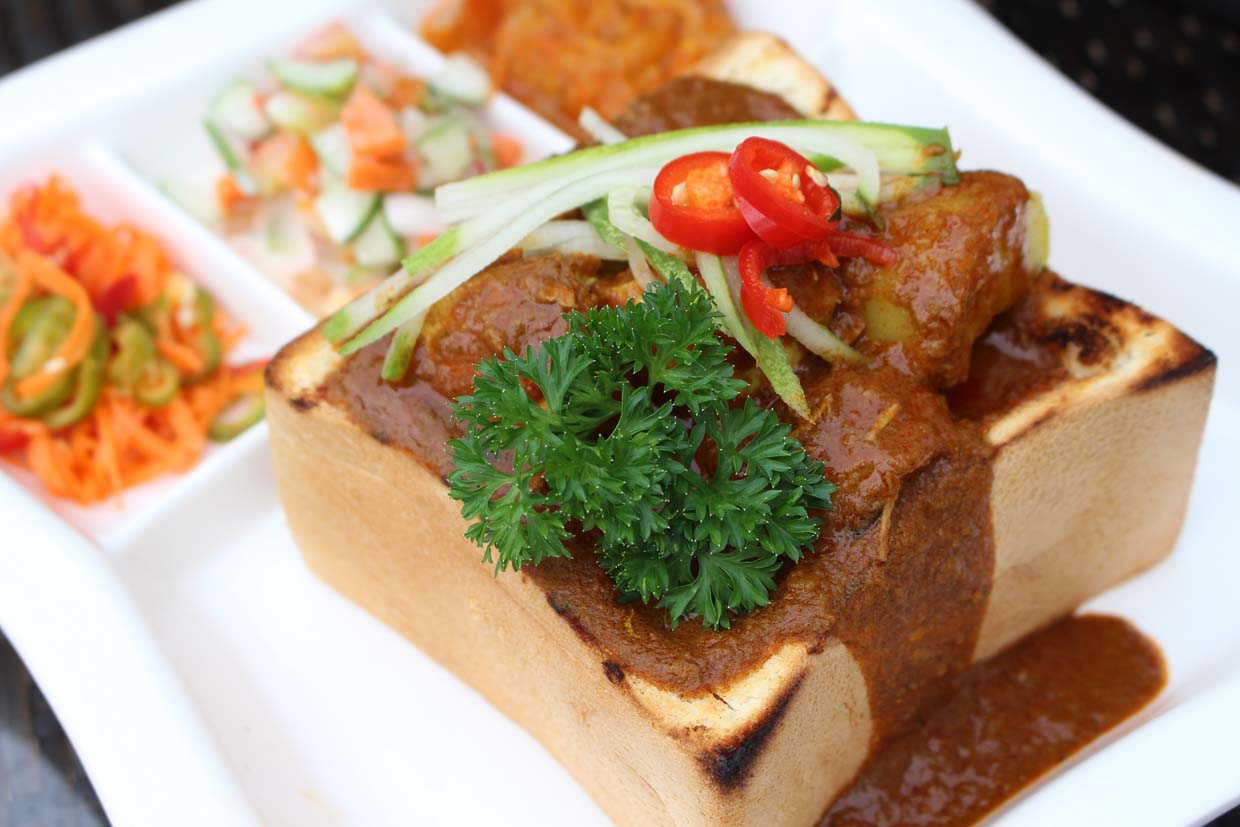 Bunny Chow & Gatsby Sandwich South African Dishes @ Kuala Lumpur Golf and Country Club