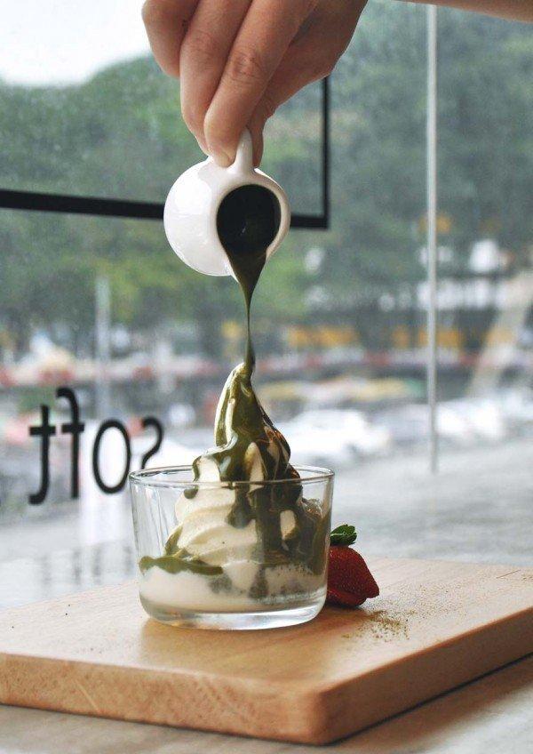 ps tokyo soft serve ice cream ss2 petaling jaya affogato matcha