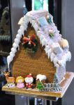 christmas new year buffet sky360 ecity hotel one city gingerbread house
