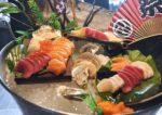 christmas new year buffet sky360 ecity hotel one city sashimi