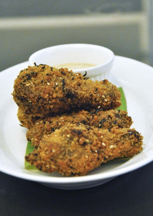 delicious new menu crunchy chicken wings