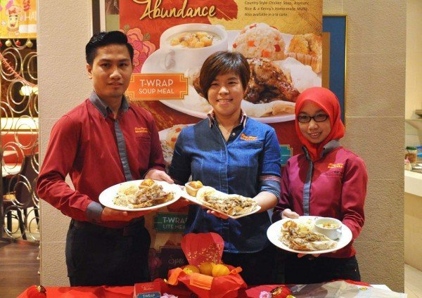 golden abundance meal kenny rogers roasters baked chicken teriyaki sauce