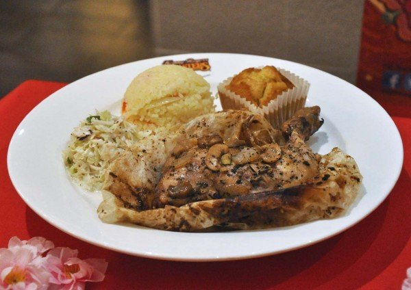 golden abundance meal kenny rogers roasters t-wrap chicken meal