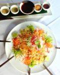 chinese new year 2016 salmon yee sang tamarind hill kuala lumpur