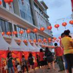 chinese new year street market 2016 da men usj subang jaya stalls