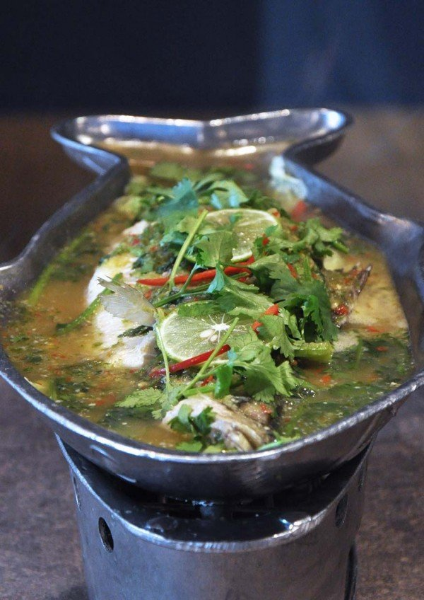 little thai kitchen kota damansara sea bass in lime