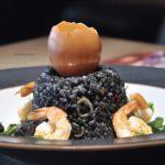 ploy thai japanese fusion restaurant publika kuala lumpur black fried rice