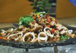 terazza brasserie dorsett grand subang mongolian grill buffet dinner mongolian lamb salad