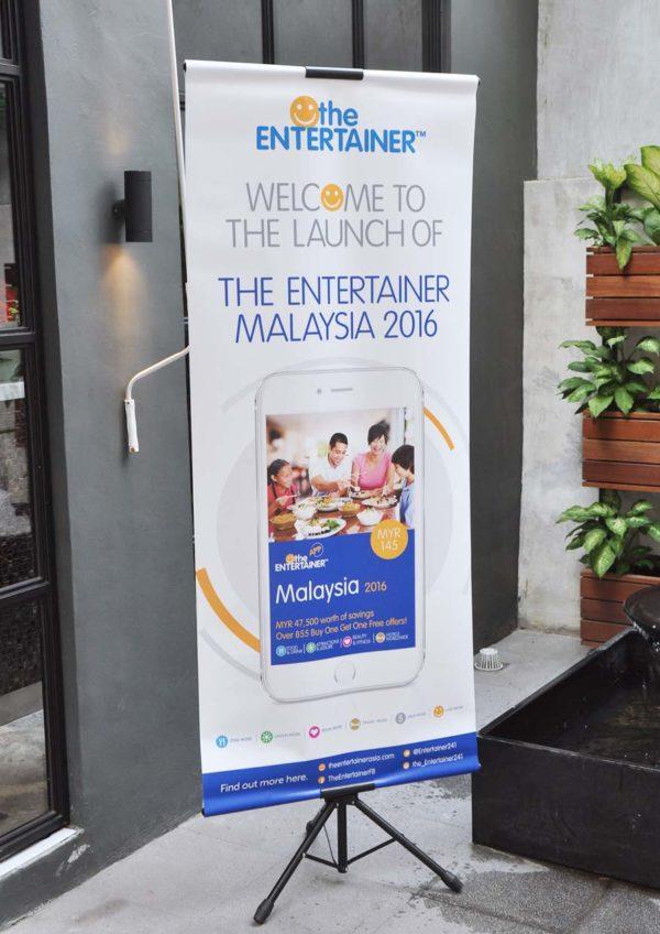 The Entertainer Malaysia 2016 Launch @ Nerovivo Kuala Lumpur