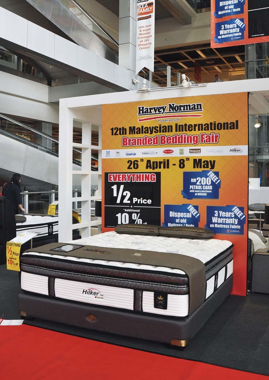 12th International Brands Bedding Fair 2016 @ Harvey Norman Malaysia