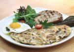 breakfast brunch brotzeit german bier bar restaurant farmer omelette