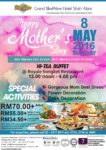 mother's day hi-tea buffet 2016 royale songket restaurant grand blueWave hotel shah alam