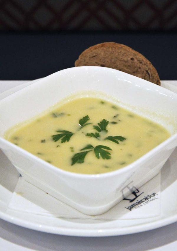 seasonal menu jamaica blue malaysia chicken corn soup