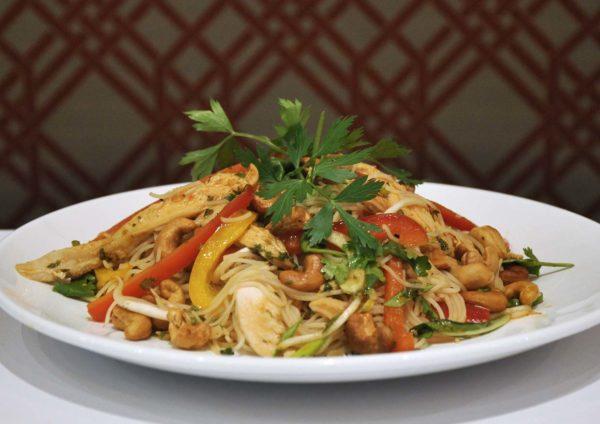 seasonal menu jamaica blue malaysia thai chicken noodle salad