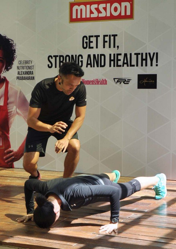 the 21 day mission by mission foods malaysia fitness guru dave nuku