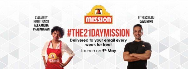 the 21 day mission by mission foods malaysia join us