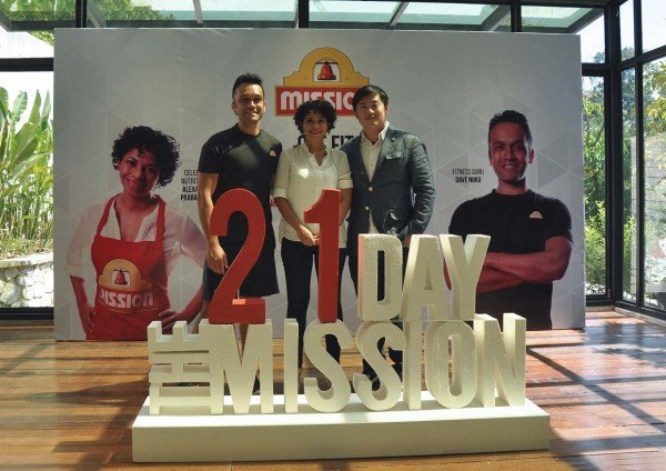 the 21 day mission by mission foods malaysia launching