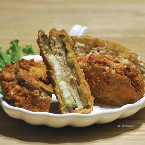 57 hotpot asian cuisine restaurant ioi city mall putrajaya fried eggplant