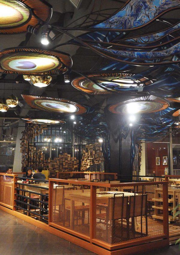 57 hotpot asian cuisine restaurant ioi city mall putrajaya interior