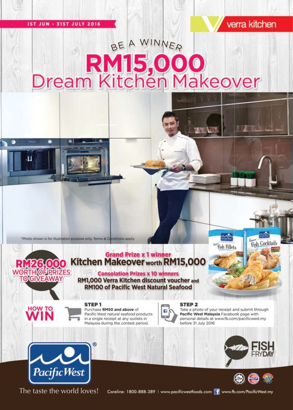 fish fry day campaign pacific west malaysia contest verra kitchen